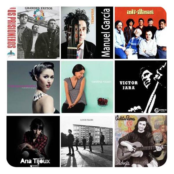 Música chilena para brasileño escuchar 1