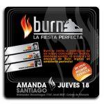 Fiesta Burn en Amanda 1