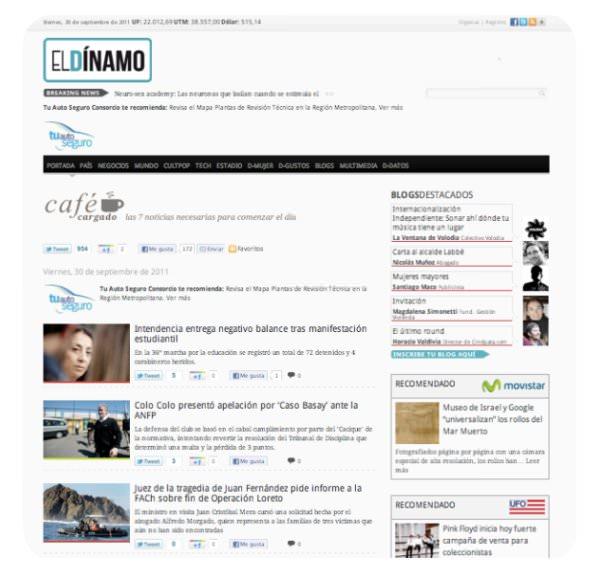 Café Cargado: las noticias indispensables en El Dínamo 1