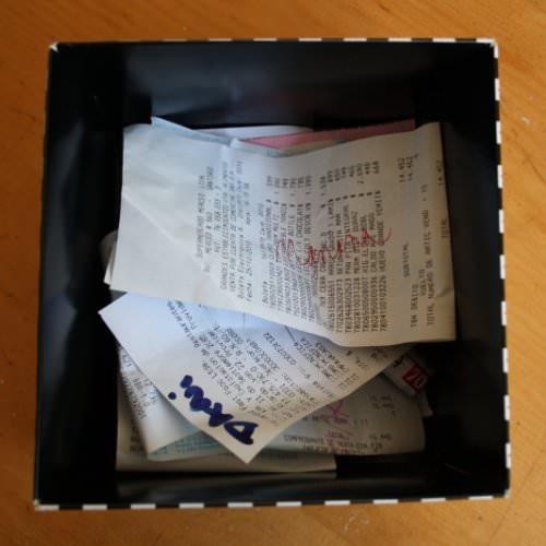 CopyPaste: cajita de boletas 1