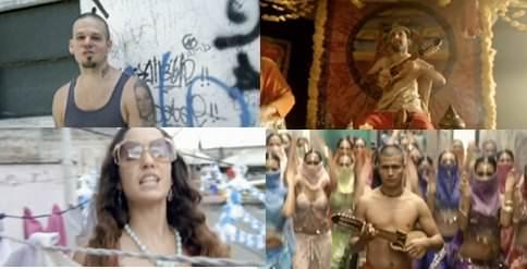Buenos días: Baile de los pobres, Calle 13 1