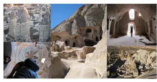 Cappadocia: pueblos cavados en roca 1
