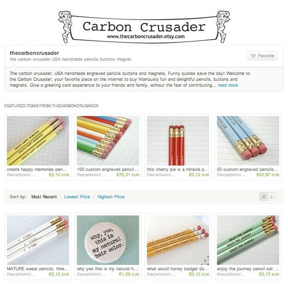 Objeto de deseo: lápices con mensajes 2