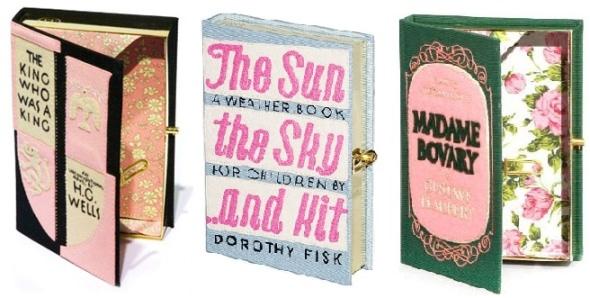 Objeto de deseo: libros bordados como carteras 1