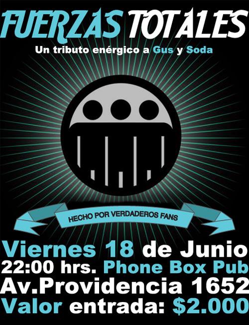 VIE/18/06 Tributo a Gustavo Cerati y Soda Stereo 1