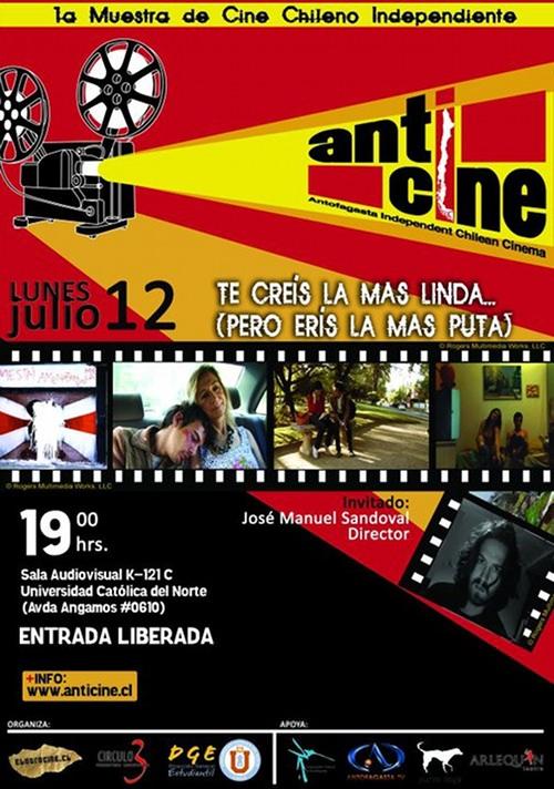 12/07 al 15/07 Cine chileno en Antofagasta 1