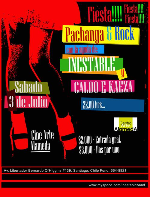 SAB/03/07 Fiesta pachanga y rock 1