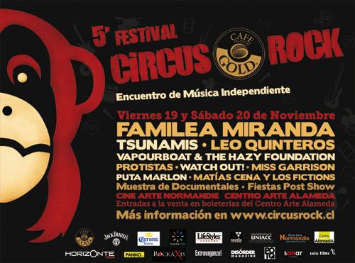 Quinto Festival Circus Rock 1