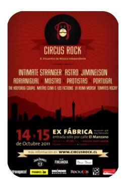 Circus Rock: festival de música chilena independiente 1