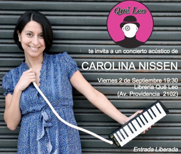 Carolina Nissen en Qué Leo 1