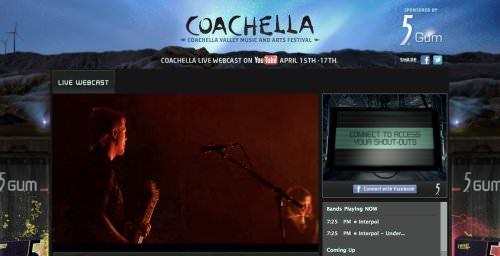 Streaming de Coachella 1