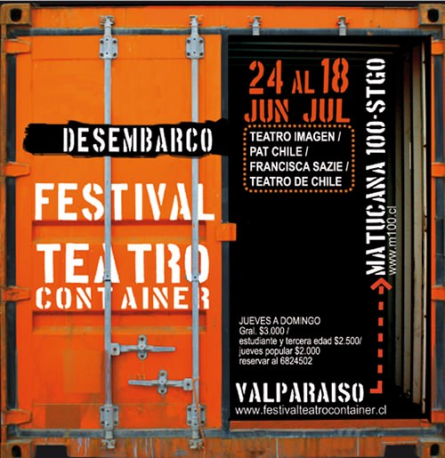 JUE/24/06 al DOM/18/06. Festival Teatro Container 1