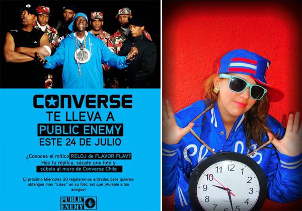 Concurso Converse / Public Enemy 1