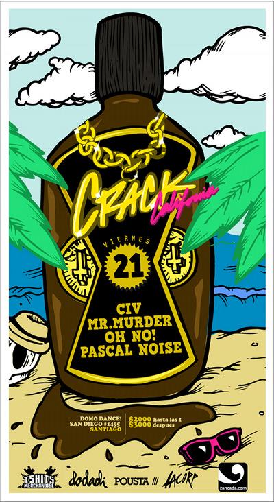 VIE/21/01 Fiesta Crack California 1