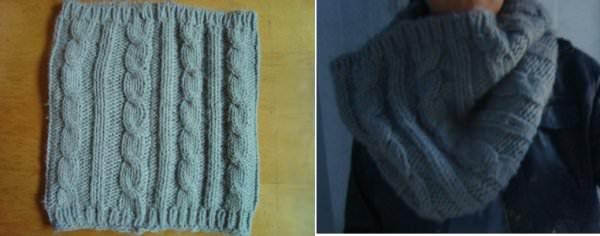 Cuello de lana gigante 1