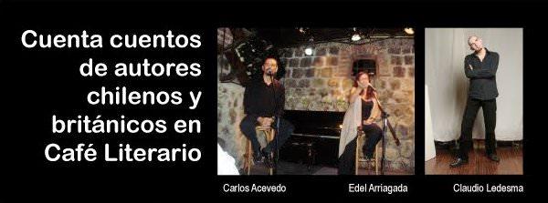 MIE/27/04 Cuenta cuentos chilenos y británicos en el Café Literario Balmaceda 1