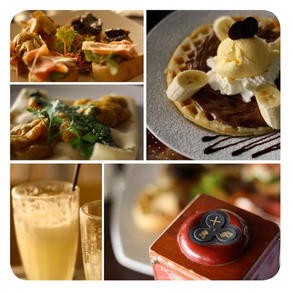 Dónde almorzar: Creppes & Waffles 1