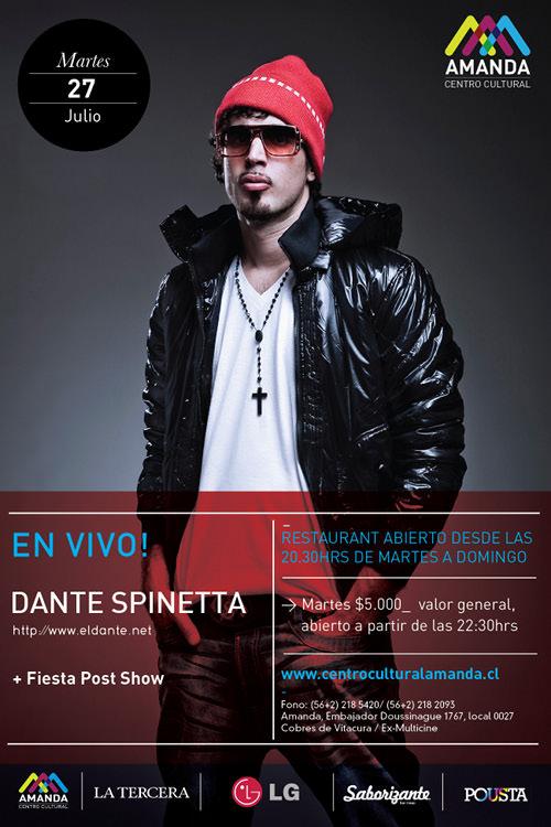 MAR/27/07 Dante Spinetta en vivo 1