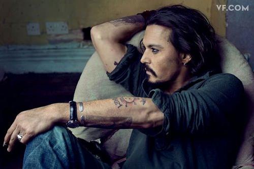 Johnny Depp entrevistado por Patti Smith 1