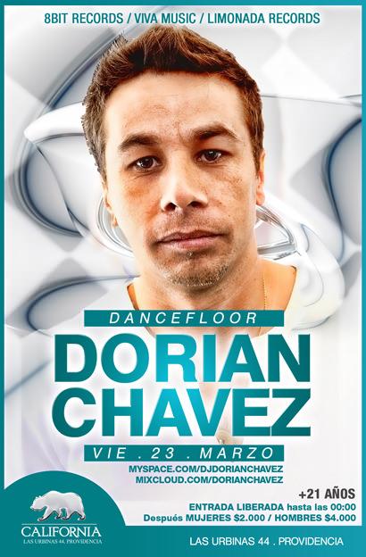 Dj Dorian Chavez en vivo en Grand California 1