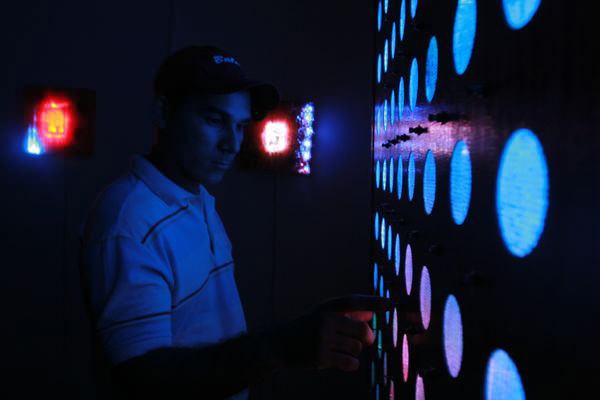 Yto Aranda: Pintura Electrónica Interactiva 1