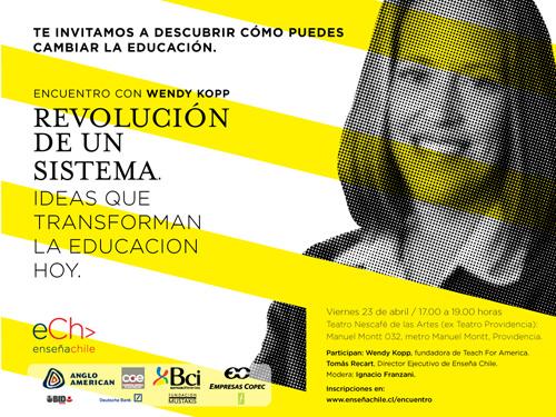Encuentro de EnseñaChile con universitarios: este viernes 1