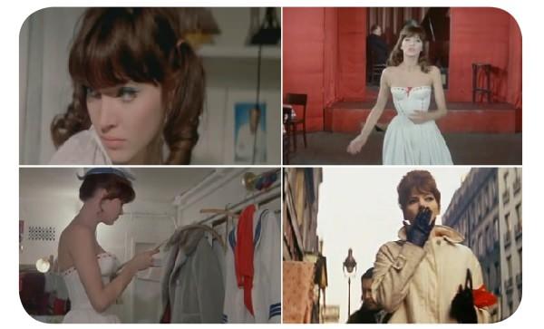 """El look: Anna Karina en """"Una mujer es una mujer"""" 1"""