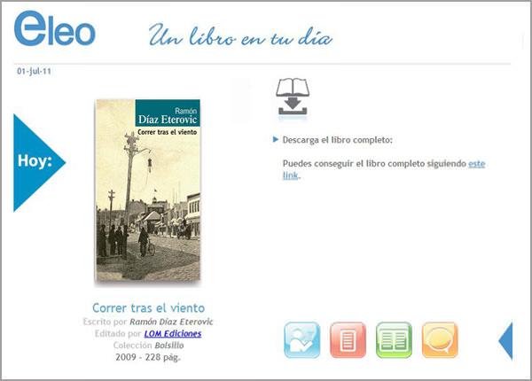 Eleo, una aplicación para libros en Facebook 1