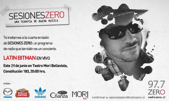 """Sesiones Zero"""" Latin Bitman 1"""