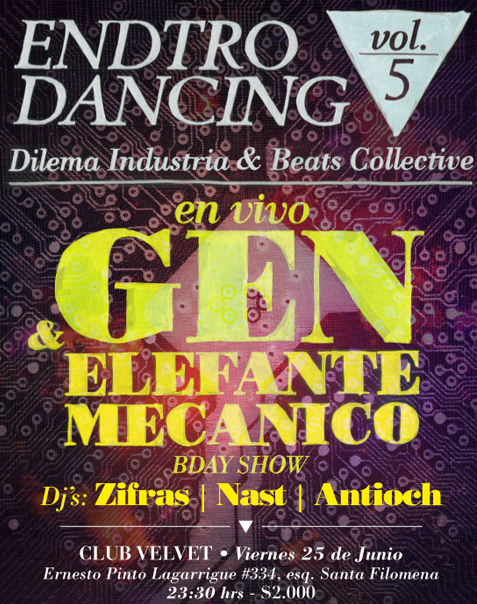 VIE/25/06 Gen & Elefante Mecánico en vivo 1