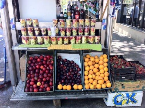 Ensalada de frutas callejera 1