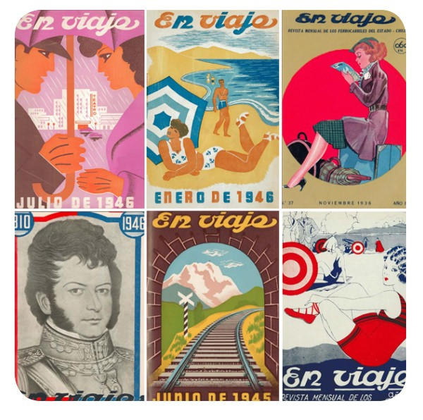 Las maravillosas portadas de la revista En Viaje 3