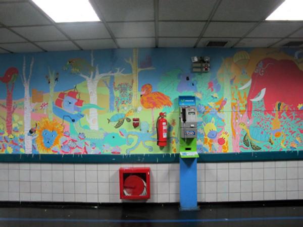 Coni y Trini Están Pintando: murales en espacios públicos y privados 2