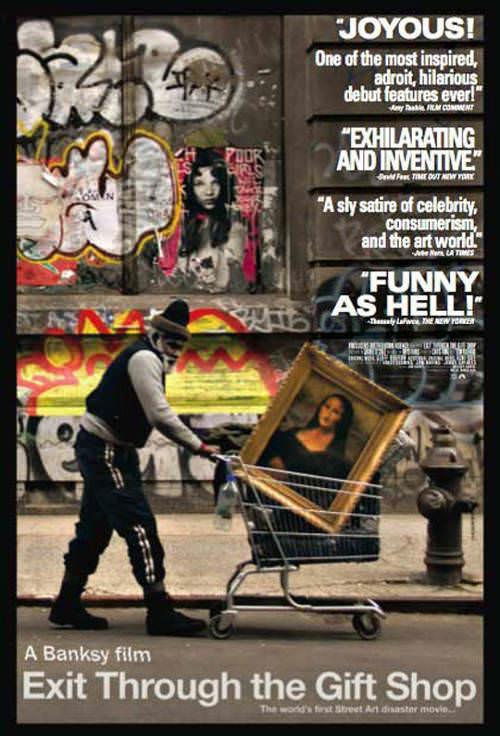 Vi Exit through the gift shop, la película de Banksy 1