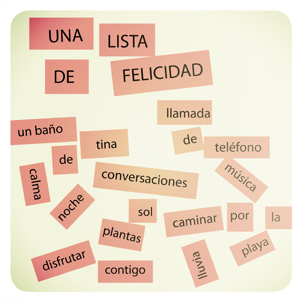 Una lista de felicidad 1
