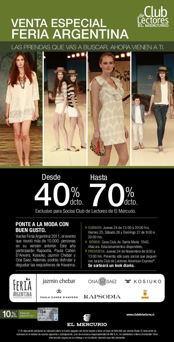 Venta especial de marcas argentinas 1