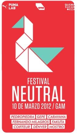 Festival Neutral 2012: pop chileno en el GAM 1