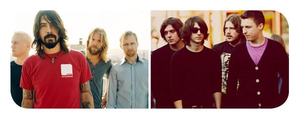 Foo Fighters y Arctic Monkeys a Lollapalooza Chile 2012 1