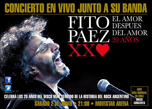 Fito Páez en Chile 1