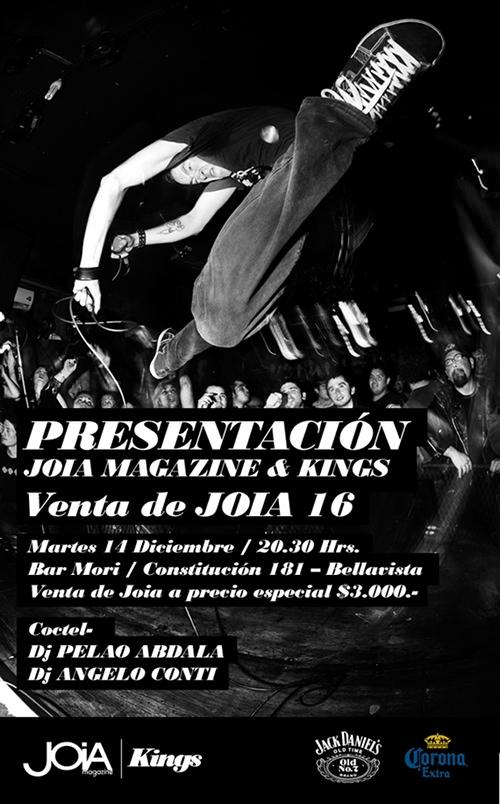 Presentación Joia Magazine & Kings 1