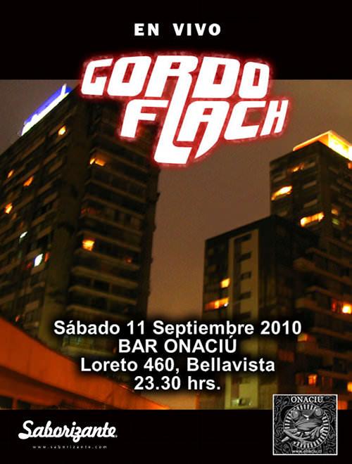 SAB/11/09 Gordo Flach en vivo 1