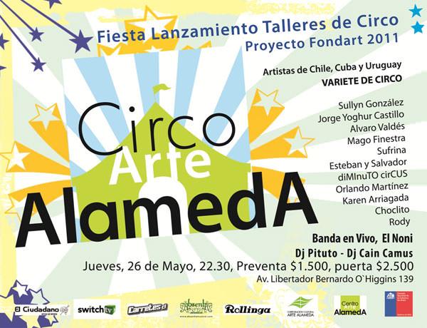 JUE/26/05 Escuela de Circo 1