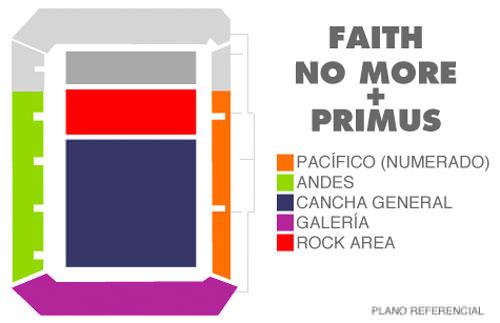 Las entradas para el concierto de despedida de la gira de Faith No More 2