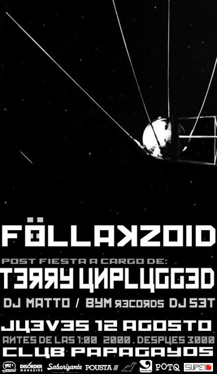 JUE/12/08 Fiesta, Föllakzoid en vivo 3
