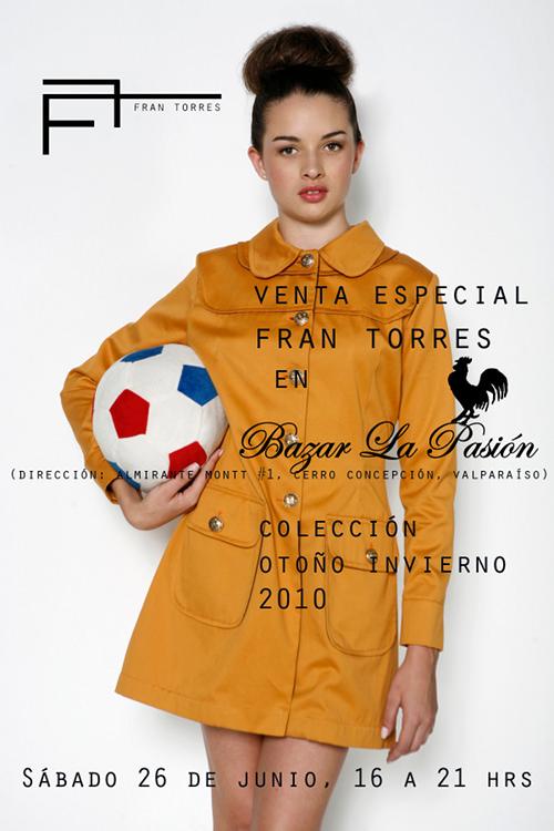 SAB/26/06 Venta especial de la marca Fran Torres 1
