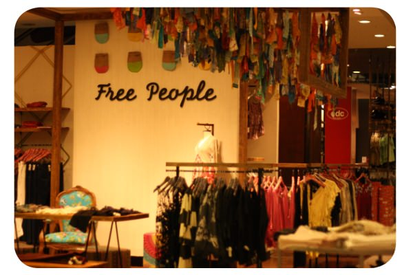 Free People llegó a Chile 1