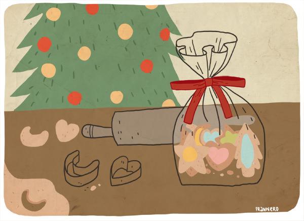 La lucha con los regalos de navidad 1