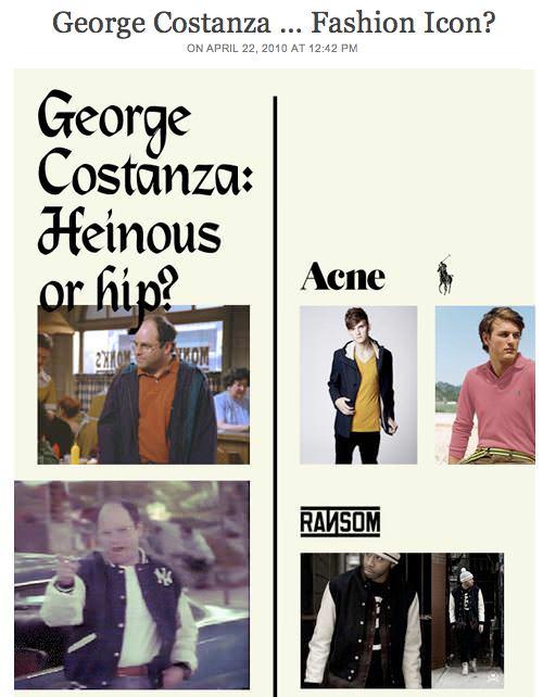 George Costanza: ¿ícono de la moda? según GQ 1