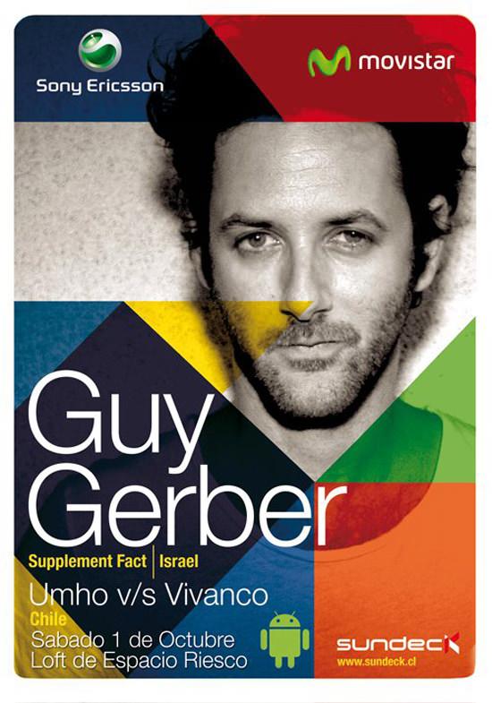 Fiesta Sundeck: Guy Gerber en vivo + concurso 1