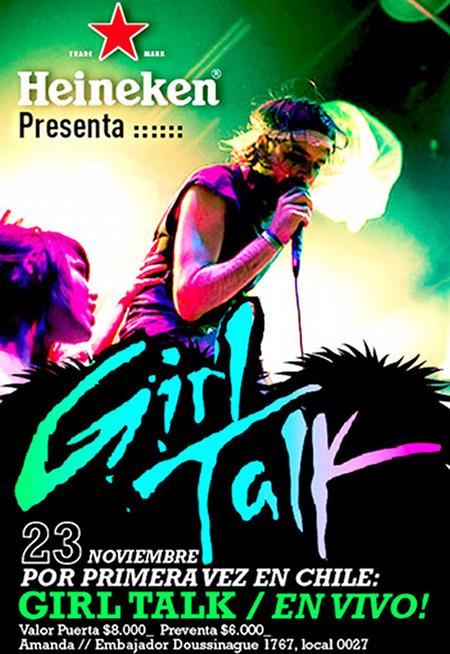Girl Talk viene a Chile 1